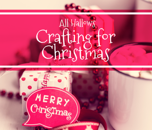 Crafting for Christmas Day