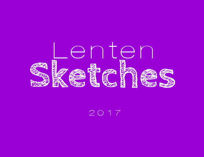 Lenten Sketches Palm Sunday Presentation