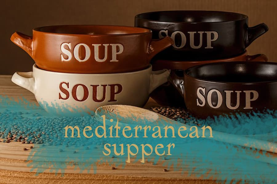 Stations & Mediterranean Soup Supper