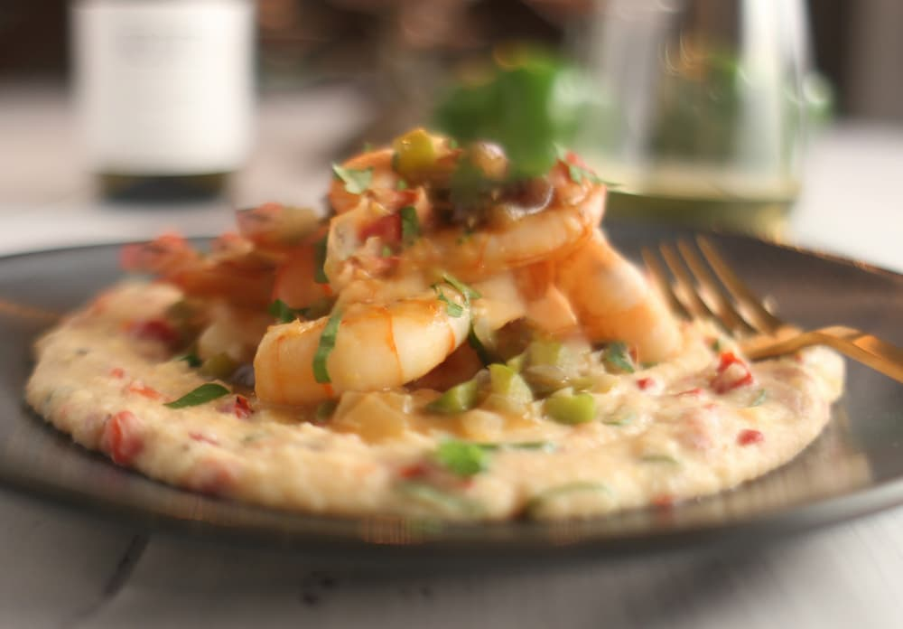 Meatless Meals: Gulf Coast Shrimp and Grits